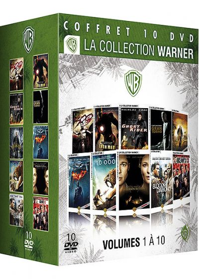 La Collection Warner : Volumes 1 à 10 (WB Environmental) - DVD