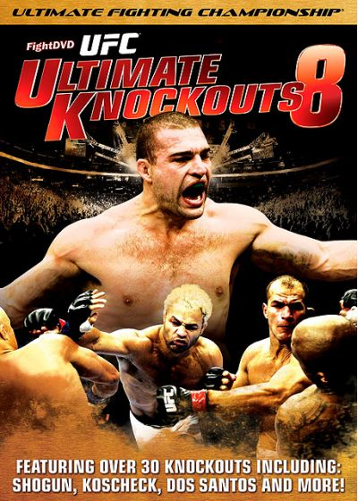 UFC : Ultimate Knockouts 8 - DVD