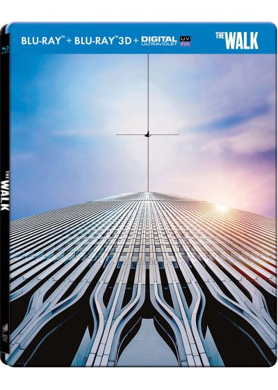 The Walk (Combo Blu-ray 3D + Blu-ray + Copie digitale - Édition boîtier SteelBook) - Blu-ray 3D