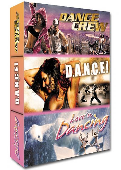Dance - Coffret 3 films : Dance Crew + Dance ! + Love'n Dancing (Pack) - DVD