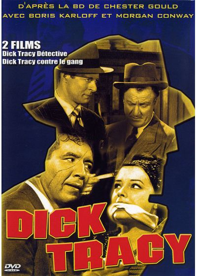 Dick Tracy - 2 films : Dick Tracy Détective + Dick Tracy contre le gang (Pack) - DVD