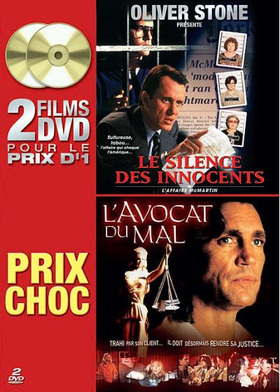 Silence des innocents, Le - L'affaire Mc Martin + L'avocat du mal - DVD