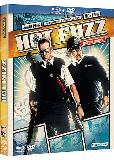Hot Fuzz (Édition Comic Book - Blu-ray + DVD) - Blu-ray