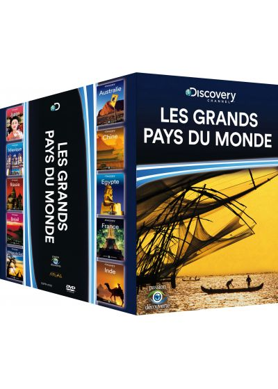 Discovery Channel - Les grands pays du monde (Pack) - DVD