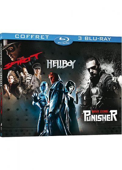 The Spirit + Hellboy + The Punisher, zone de guerre (Pack) - Blu-ray
