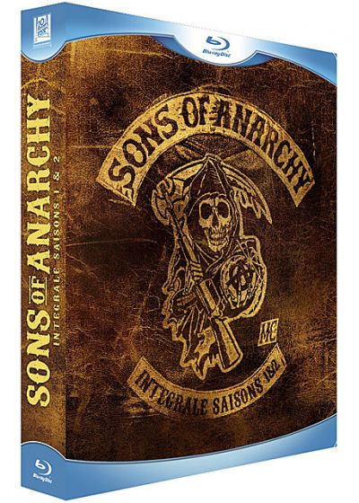 Sons of Anarchy - L'intégrale des saisons 1 & 2 (Pack) - Blu-ray