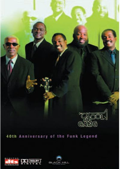 Kool & the Gang - 40th Anniversary of the Funk Legend - DVD