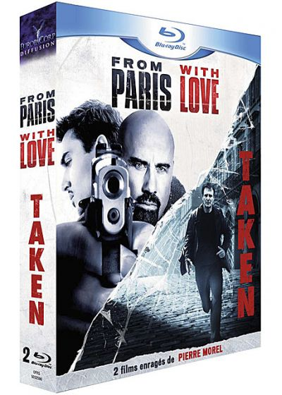 From Paris with Love + Taken (Pack) - Blu-ray