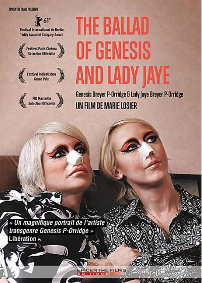The Ballad of Genesis and Lady Jaye - DVD