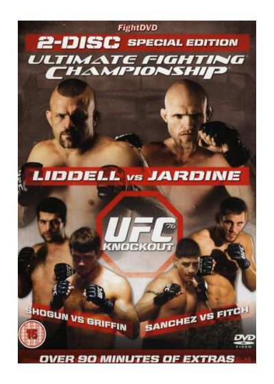 UFC 76 : Knockout - DVD