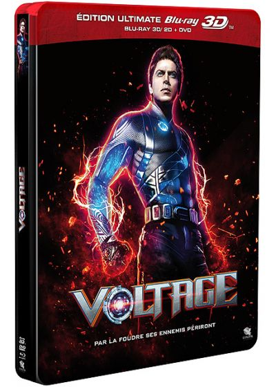 Voltage (Édition Ultimate Blu-ray 3D + Blu-ray + DVD - Boîtier SteelBook) - Blu-ray 3D