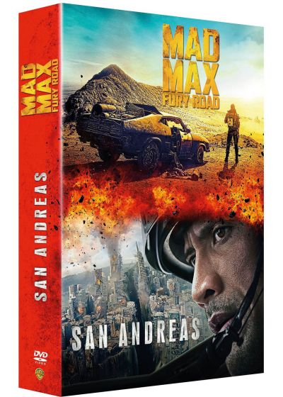 San Andreas + Mad Max : Fury Road (DVD + Copie digitale) - DVD