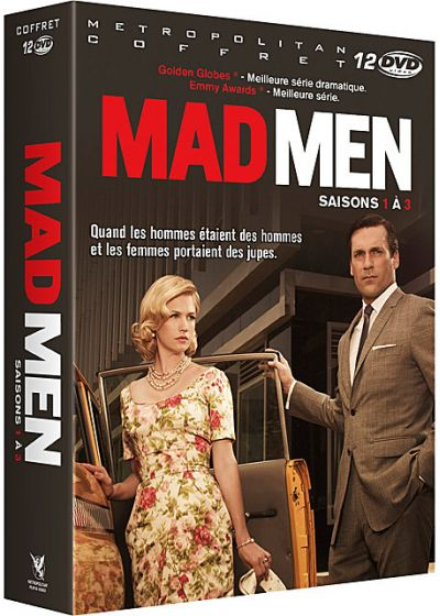 Mad Men - Saisons 1 à 3 - DVD