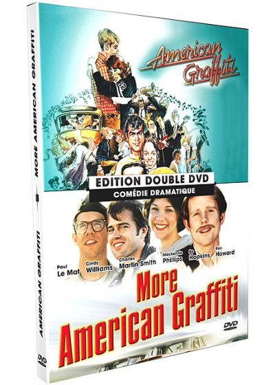 American Graffiti + More American Graffiti (Pack) - DVD