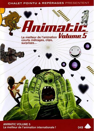 Animtic : le meilleur de l'animation internationale - Vol. 5 - DVD