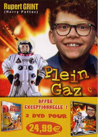 Plein gaz + Chicken Run (Pack) - DVD