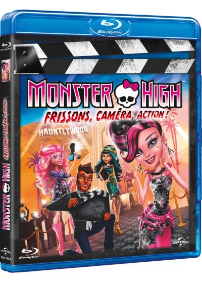 Monster High - Frisson, caméra, action ! (Blu-ray + Copie digitale) - Blu-ray