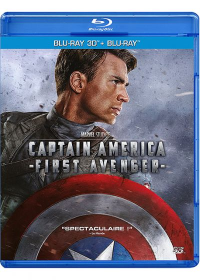 Captain America : The First Avenger (Combo Blu-ray 3D + Blu-ray 2D) - Blu-ray 3D