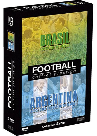 Football : Brasil, Argentina - Coffret prestige (Pack) - DVD