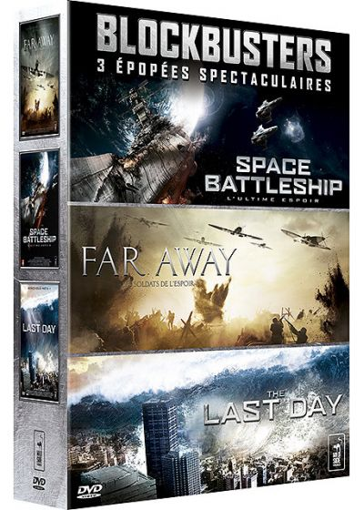 Blockbusters - Coffret : Space Battleship + Far Away + The Last Day (Pack) - DVD