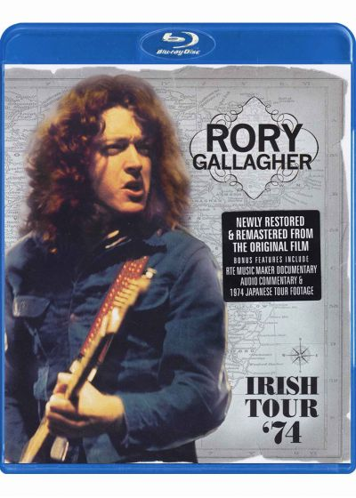Gallagher, Rory - Irish Tour 1974 - Blu-ray