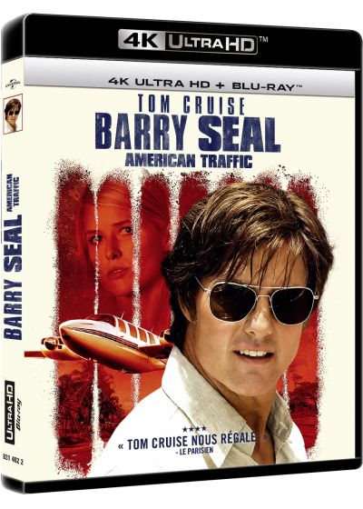 Barry Seal : American Traffic (4K Ultra HD + Blu-ray + Digital HD) - Blu-ray 4K
