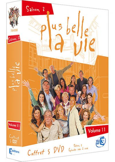 Plus belle la vie - Volume 11 - Saison 2 - DVD