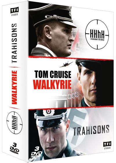 Coffret : HHhH + Walkyrie + Trahisons (Pack) - DVD