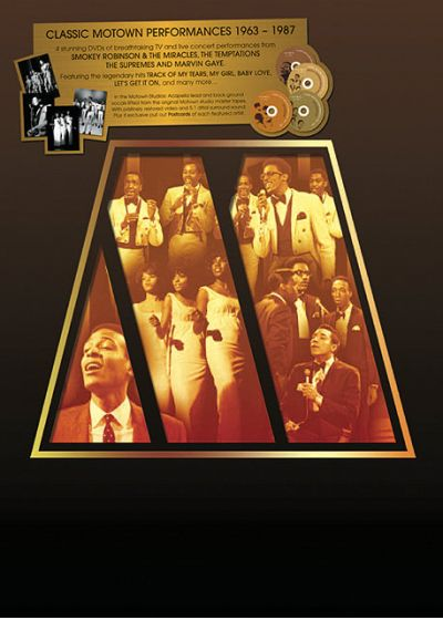 Classic Motown Performances 1963-1987 (Edition Deluxe) - DVD