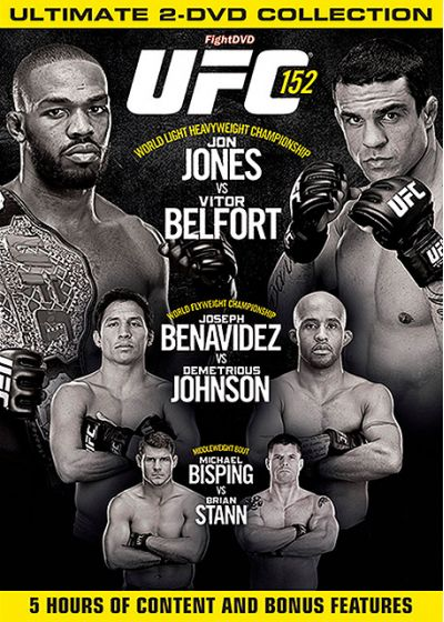 UFC 152 : Jones vs Belfort - DVD