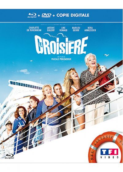 La Croisière (Combo Blu-ray + DVD + Copie digitale) - Blu-ray