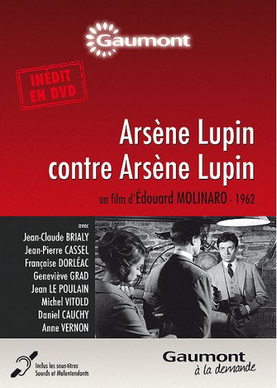 Arsène Lupin contre Arsène Lupin - DVD