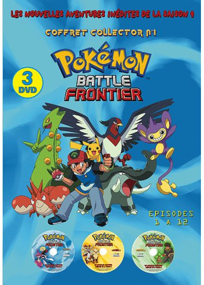 Pokemon Battle Frontier - Saison 9 n°1 (Édition Collector) - DVD