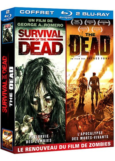 Renouveau du film de zombies : The Dead + Survival of the Dead (Pack) - Blu-ray
