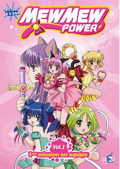 Mew Mew Power - Vol. 1 - 1ère mission en équipe - DVD