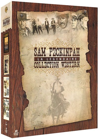 Sam Peckinpah, la légendaire collection western - DVD