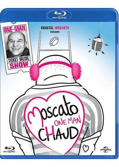 Vincent Moscato - One Man Chaud - Blu-ray