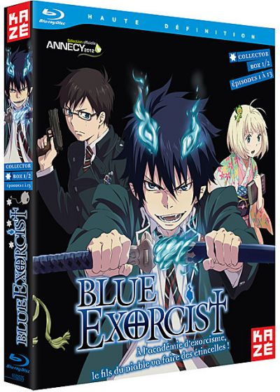 Blue Exorcist - Partie 1/2 (Édition Collector) - Blu-ray