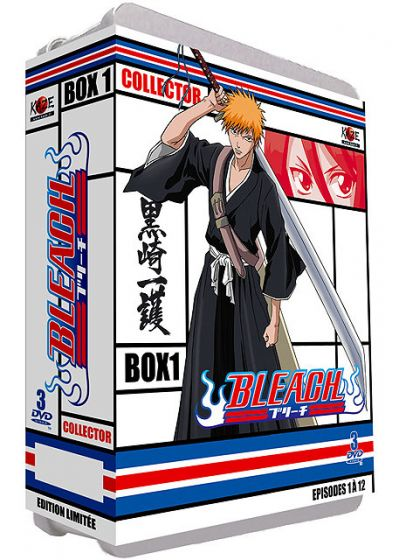 Bleach - Saison 1 : Box 1 : The Substitute, Part 1 (Édition Collector Numérotée) - DVD
