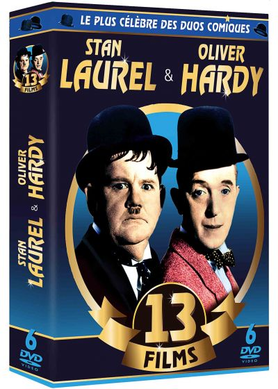 Stan Laurel & Oliver Hardy : 13 films - DVD
