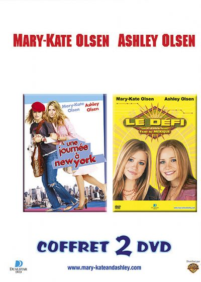 Mary-Kate & Ashley Olsen - Une journée à New York + Le défi - DVD