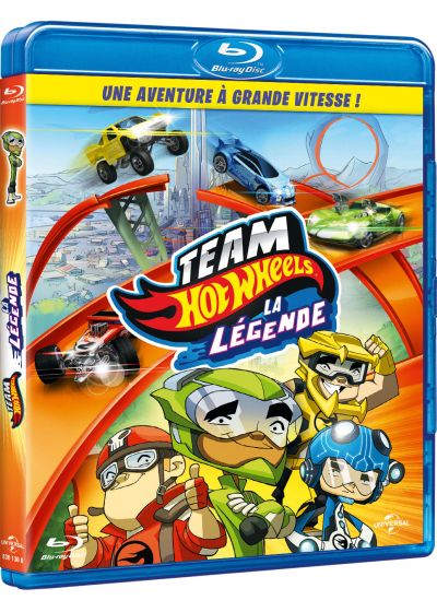 Team Hot Wheels : la légende - Blu-ray