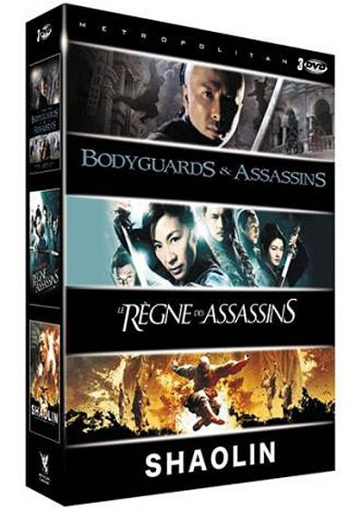 Arts martiaux - Coffret 3 films : Bodyguards & Assassins + Le règne des assassins + Shaolin - La légende des moines guerriers (Pack) - DVD