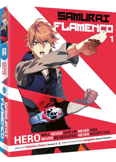 Samurai Flamenco - Box 1/2 (Édition Collector) - DVD