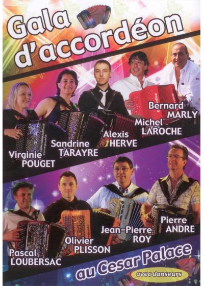 Gala d'accordéon au César Palace - DVD