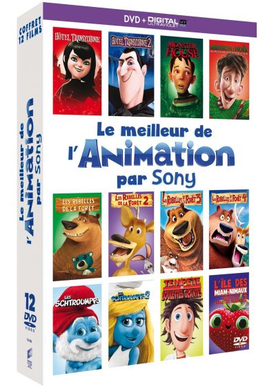 Le Meilleur de l'animation par Sony (DVD + Copie digitale) - DVD
