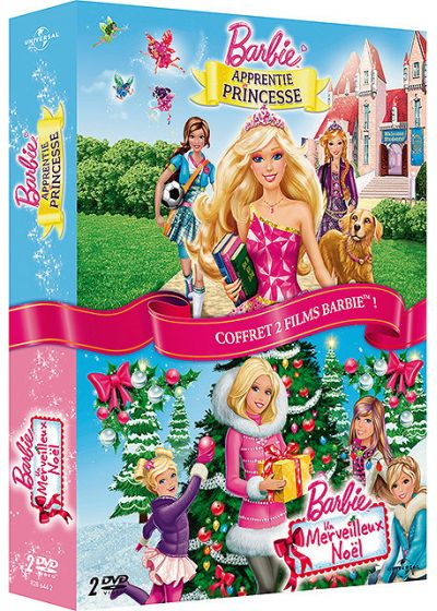 Barbie - Merveilleux Noël + Barbie apprentie princesse (Pack) - DVD