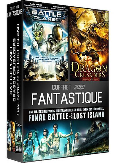 Coffret Fantastique : Battle Planet + Dragon Crusaders + Final Battle of the Lost Island (Pack) - DVD