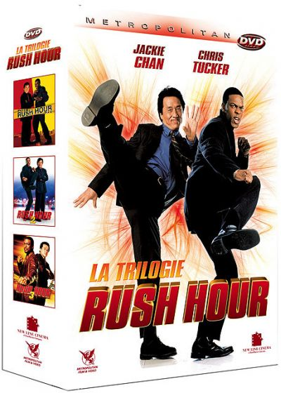 Rush Hour - La trilogie (Pack) - DVD