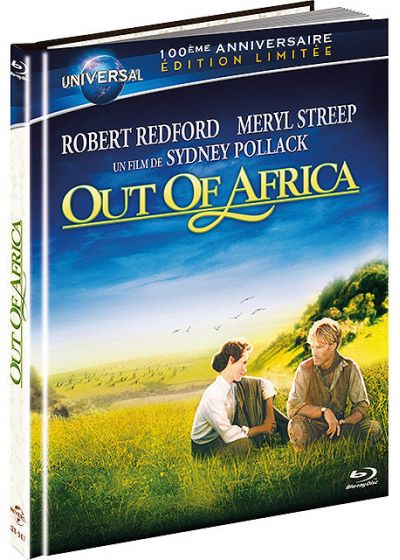 Out of Africa (Édition limitée 100ème anniversaire Universal, Digibook) - Blu-ray